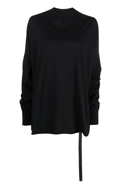 Logo-patch sweatshirt RICK OWENS DRKSHDW   Sweatshirts   DS21S2213RN09