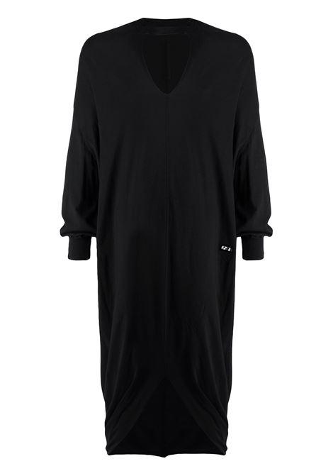 Long v-neck t-shirt black - unisex RICK OWENS DRKSHDW | DS21S2517B09
