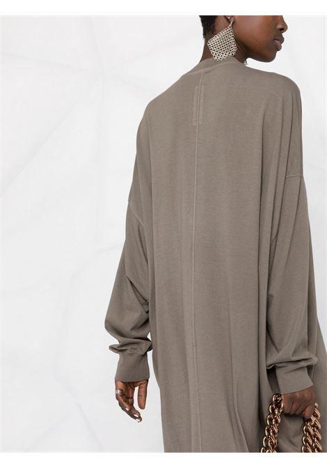 Oversized sweatshirt maxi dress RICK OWENS DRKSHDW | DS21S2517RN34