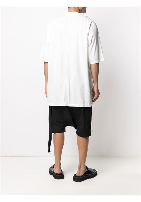 Side string detail longline T-shirt RICK OWENS DRKSHDW | DU21S2274RN11