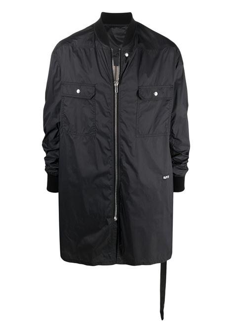 Rick owens zip-up coat men drkshdw black RICK OWENS DRKSHDW | DU21S2974ND09