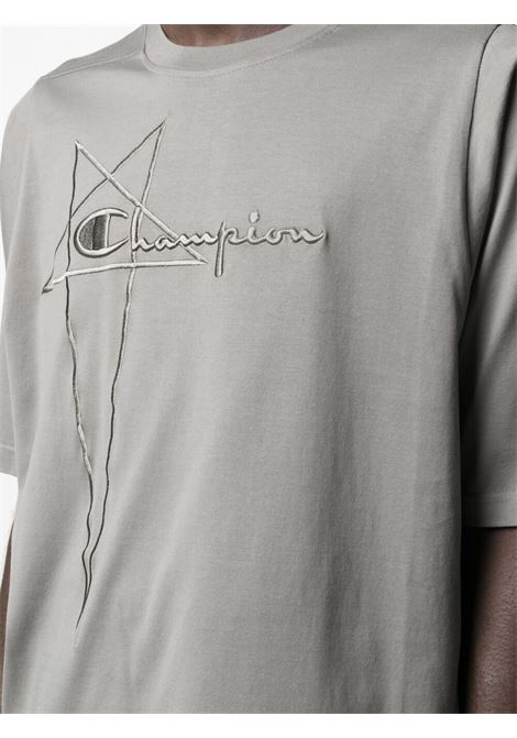 Rick owens x champion logo t-shirt men dust RICK OWENS X CHAMPION | CM21S001021676234