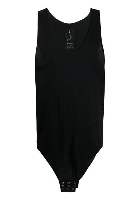 Rick owens x champion logo tank t-shirt men black RICK OWENS X CHAMPION | CM21S001121676409