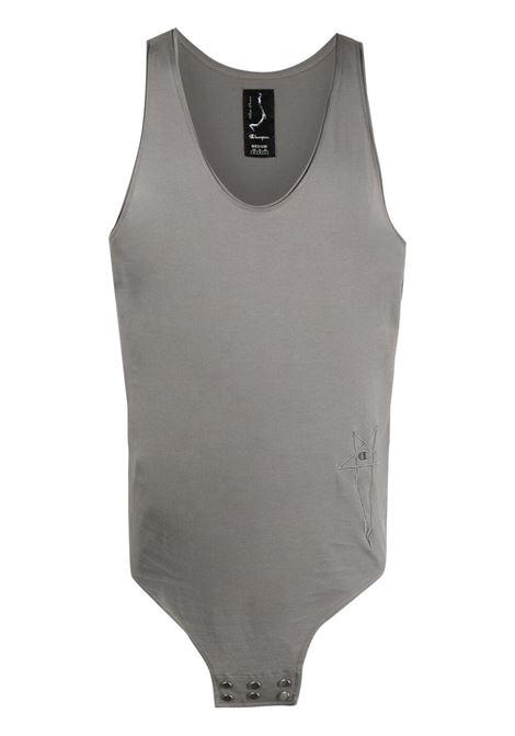 Rick owens x champion logo tank t-shirt men dust RICK OWENS X CHAMPION | CM21S001121676434