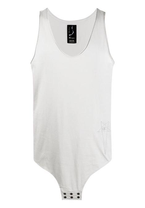 Rick owens x champion logo tank t-shirt men oyster RICK OWENS X CHAMPION | T-shirt | CM21S001121676461