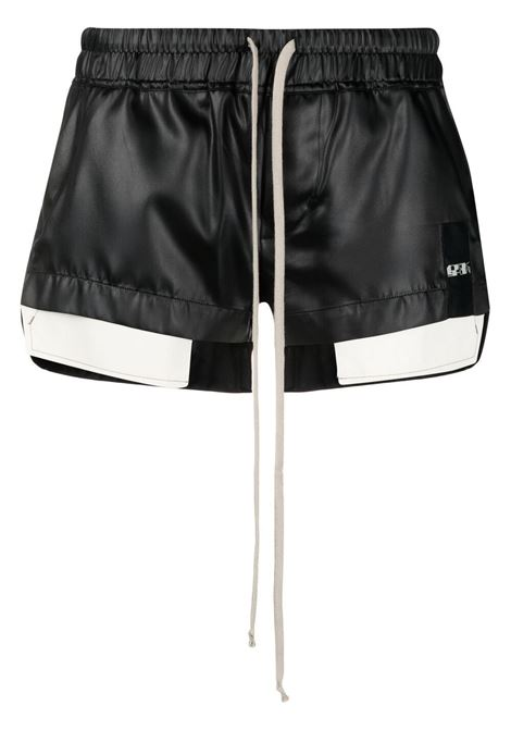 Rick owens ruched drawstring shorts women black RICK OWENS | Shorts | RO21S3360QLX09