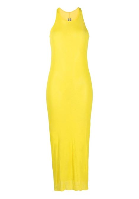 Rick owens fitted tank dress women yellow RICK OWENS | Dresses | RO21S3549MR52