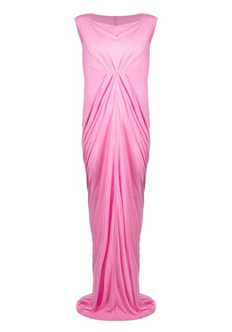 Rick owens drape-detail dress women pop pink RICK OWENS | Dresses | RO21S3594JS183
