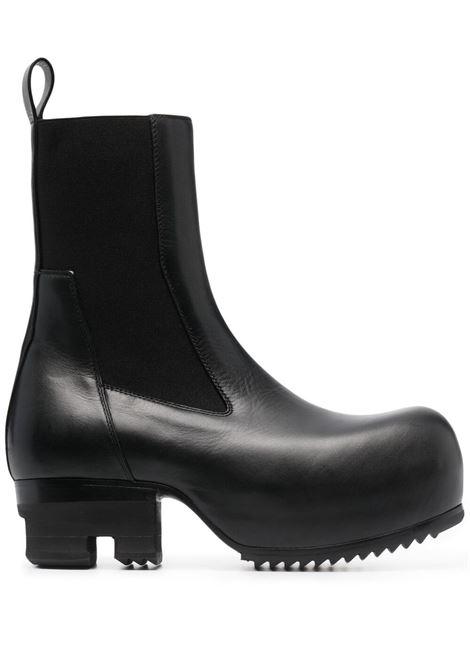 Rick owens chelsea boots women black  RICK OWENS | Boots | RO21S3824LBO09