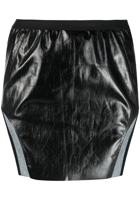 Faux leather mini skirt RICK OWENS | Skirts | RP21S3347SLQ09