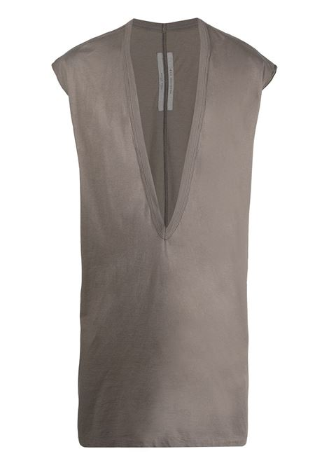 Deep V-neck tank top RICK OWENS | T-shirt | RU21S6157JA34