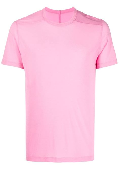 Rick owens jersey t-shirt men pop pink RICK OWENS | T-shirt | RU21S6265JS183
