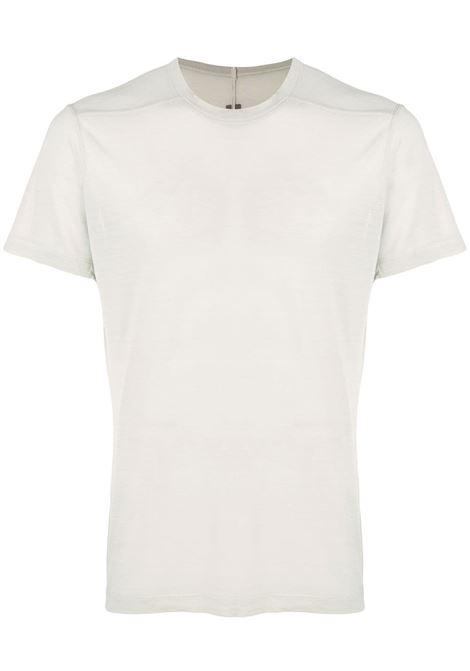 Rick owens short-sleeve t-shirt men oyster RICK OWENS | T-shirt | RU21S6265JS61