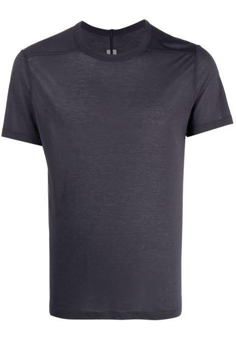 Rick owens basic t-shirt men plum RICK OWENS | T-shirt | RU21S6265JS76