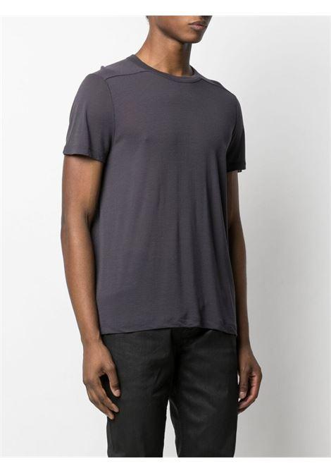 Rick owens basic t-shirt men plum RICK OWENS | RU21S6265JS76