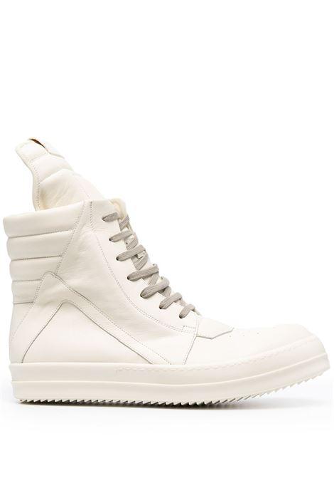 Rick owens phlegethon geobasket sneakers men milk  RICK OWENS | Sneakers | RU21S6894LPO111111