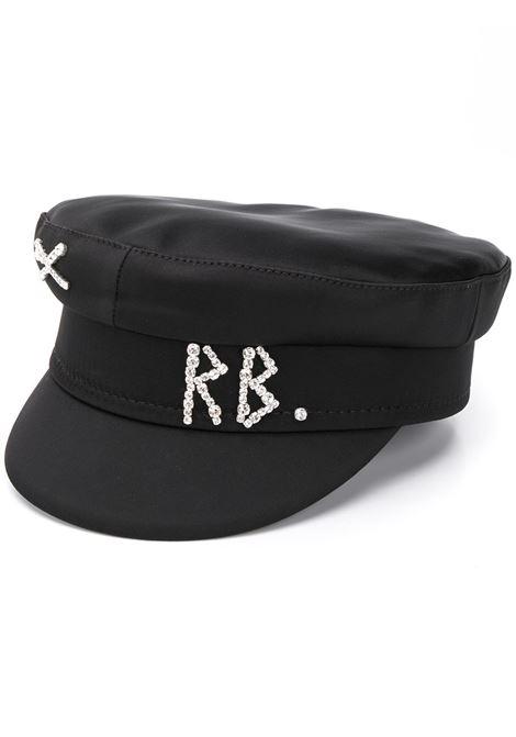 Ruslan Baginskiy cappello con logo donna black RUSLAN BAGINSKIY | Cappelli | KPC033STNBLK