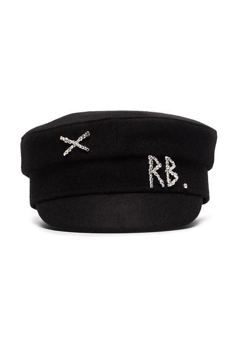 Ruslan Baginskiy cappello baker boy donna black RUSLAN BAGINSKIY | Cappelli | KPC033WDMDBLK