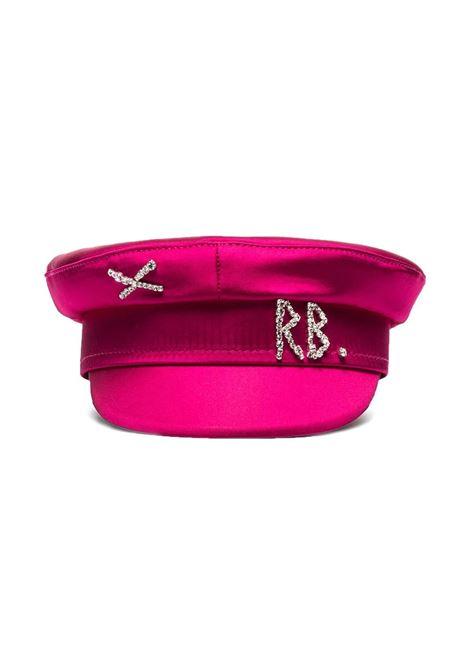 Ruslan Baginskiy cappello baker boy donna pink RUSLAN BAGINSKIY | Cappelli | KPC038STNPNK