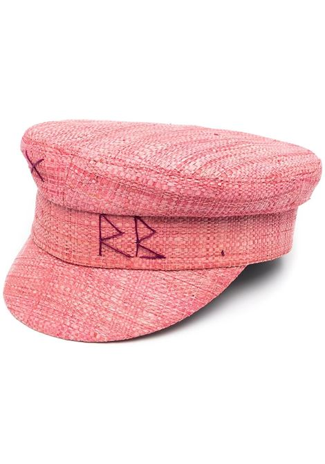 Ruslan Baginskiy cappello baker boy donna pink RUSLAN BAGINSKIY | Cappelli | KPC038STRPNK