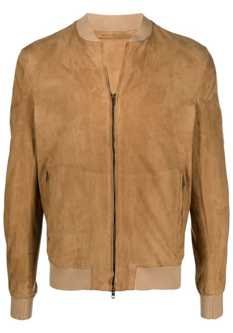 Salvatore santoro bomber jacket men camel SALVATORE SANTORO | Outerwear | 40517CML