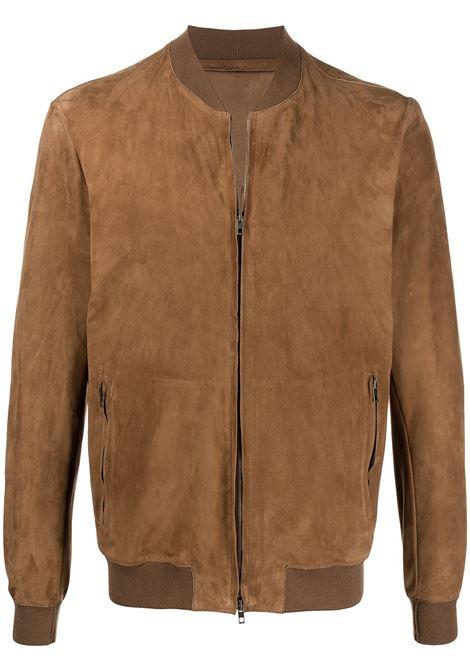 Salvatore santoro bomber jacket men tabacco SALVATORE SANTORO | Outerwear | 40517TBCC