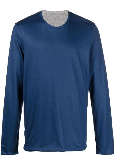 Sease t-shirt con maniche lunghe uomo navy blue SEASE | T-shirt | KR030TJ070B13