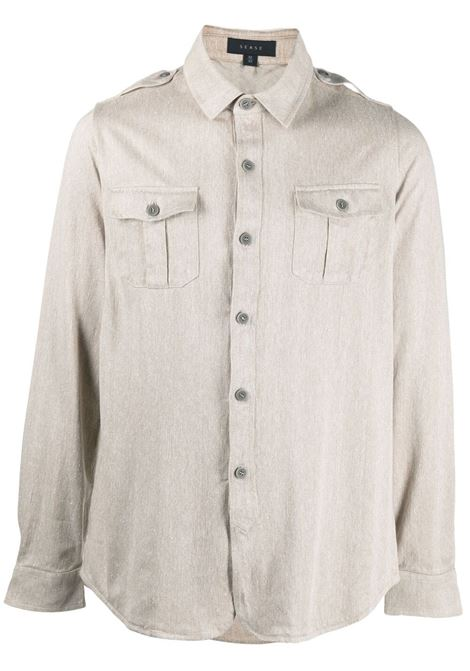 Chest pocket long-sleeved shirt SEASE | Shirts | WP030TJ017X43