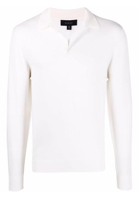 Sease sweater men white SEASE | Sweaters | WP032XG004N14