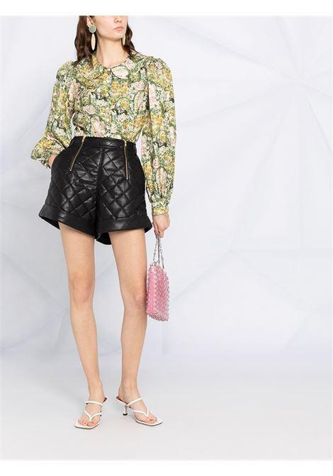 Shorts con zip Donna SELF-PORTRAIT | RS21121BLK