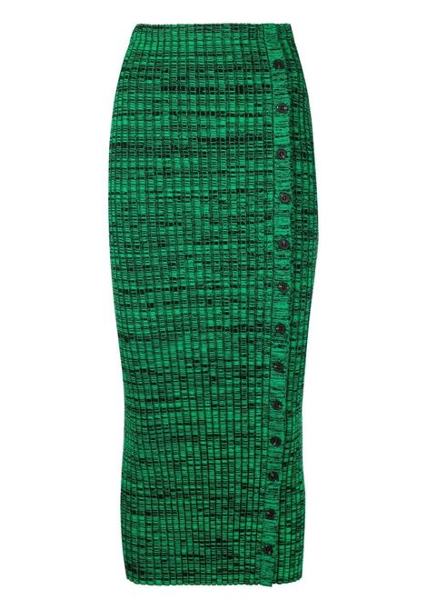 Side button fastening knitted skirt SELF-PORTRAIT | Skirts | SS21063MLTCLR