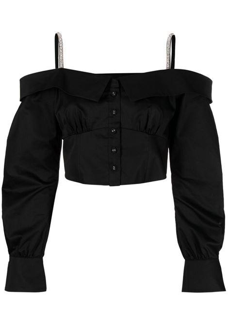 Crystal-embellished blouse  SELF-PORTRAIT | Top | SS21071BBLK