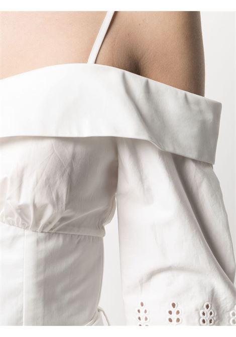 Blusa con spalle scoperte Donna SELF-PORTRAIT | SS21071WWHT