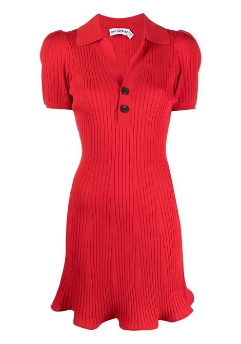 Skater dress SELF-PORTRAIT | Dresses | SS21084MRD