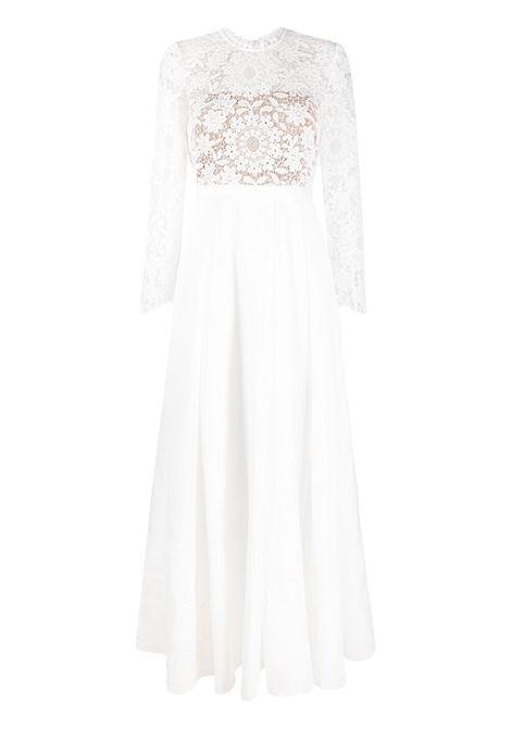 Lace -panelled gown  SELF-PORTRAIT | Dresses | SS21093WHT