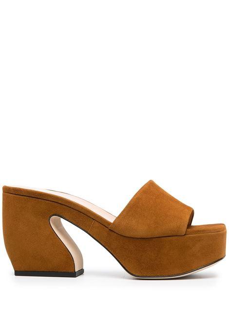 Sculpted heel sandals SI ROSSI | Sandals | A93760MCAM332250