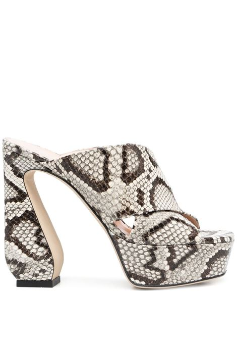 Snake-effect mules SI ROSSI | Mules | A93770MCPS029345