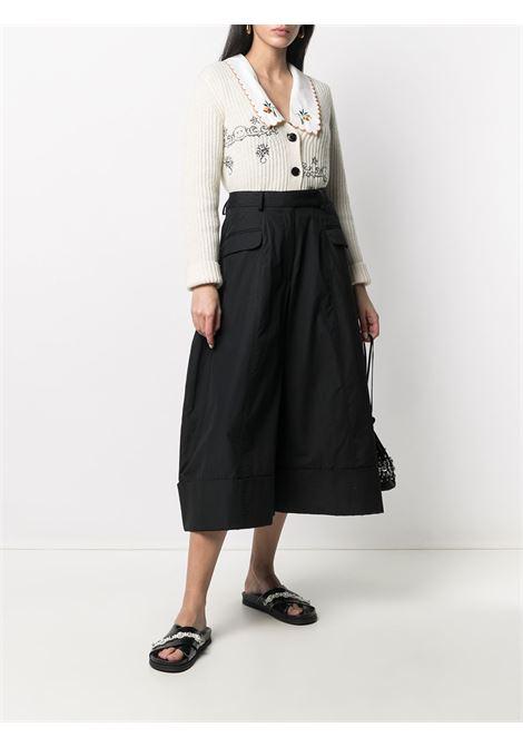 Wide-leg trousers SIMONE ROCHA | 40110109BLK