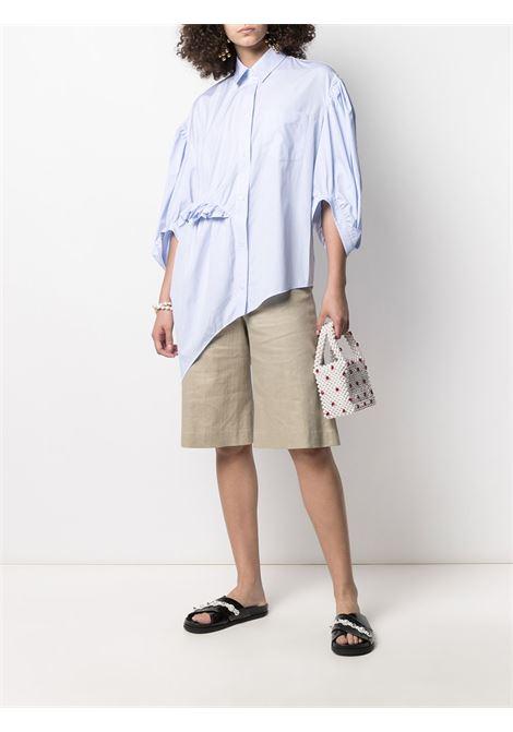 Ruffle-detail striped shirt SIMONE ROCHA | 50570412BL