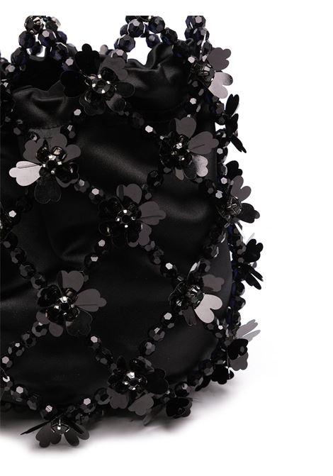 Simone sequin-embellished bucket bag rocha jet SIMONE ROCHA | BAG1030911JT