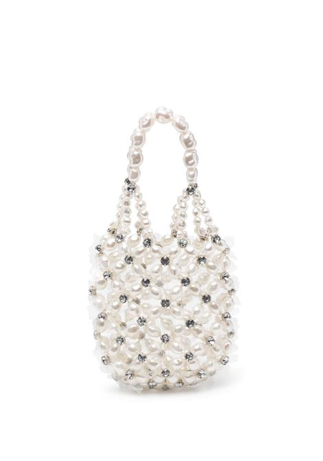 Simone rocha crystal-embellished mini bag pearl SIMONE ROCHA | Mini bags | BAG1040904PRL