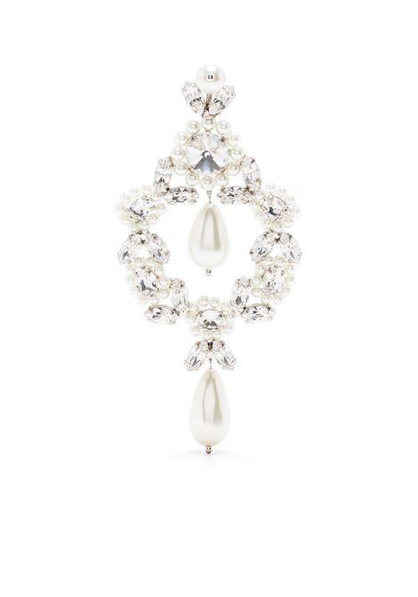 Simone Rocha orecchini pendenti donna pearl clear SIMONE ROCHA | Orecchini | ERG2430906PRLCLR