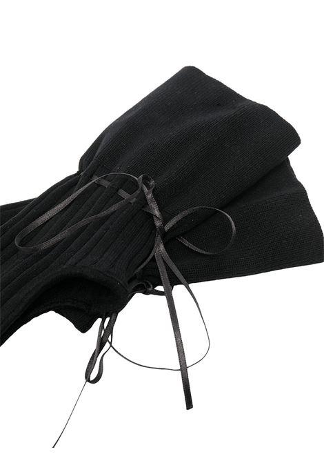 Simone rocha cut-out socks black SIMONE ROCHA | SOCK11S0639BLK