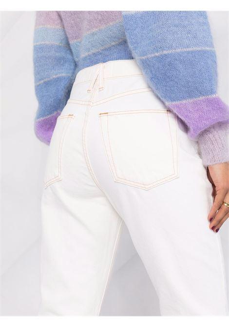 Slvrlake straight-leg jeans women ivory SLVRLAKE | BTNA407PIVRY