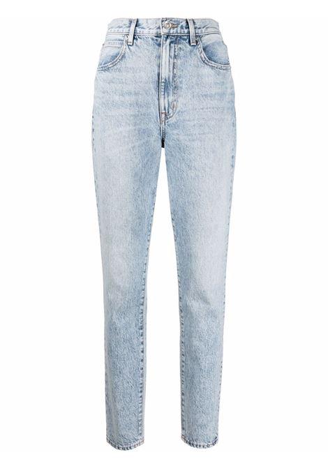 Slvrlake high-waisted jeans women denim blue SLVRLAKE | BTNJ707SCRBYCRSBY