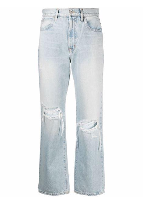 Slvrlake high-waisted jeans women heartbreak hotel SLVRLAKE | LNDA707SHBHT