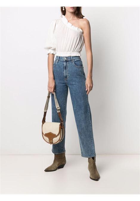Blue straight-leg jeans -women  SLVRLAKE | LNDC506OKGCNKCANYN