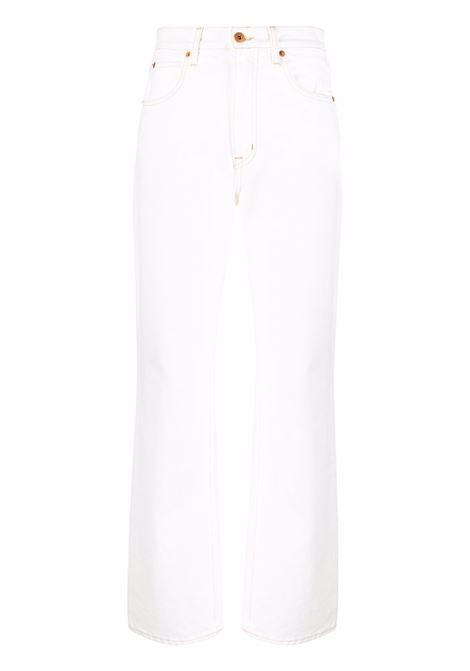 Slvrlake london jeans women natural white SLVRLAKE | Jeans | LNDJ407PNTRWHT