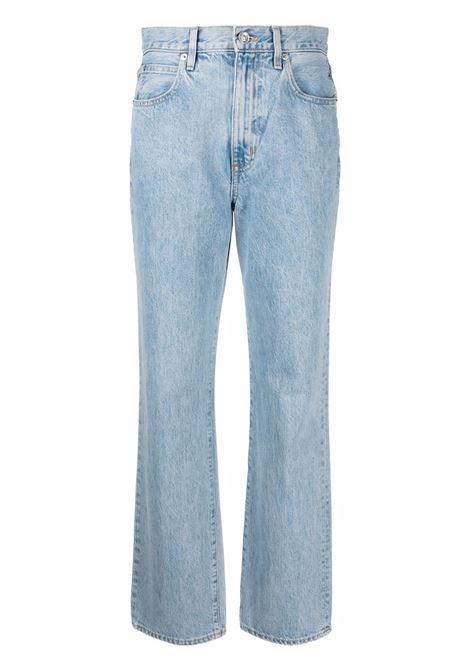 Light blue straight-leg jeans -women  SLVRLAKE | LNDJ707SCLSKCLRSKY