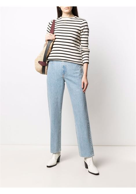 Slvrlake straight-leg jeans women sunny plains SLVRLAKE | SLEL18707SSUNPLA